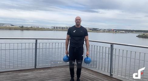 steel mace workout